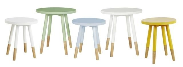 GlobeWest - Linea Dipped Side Tables