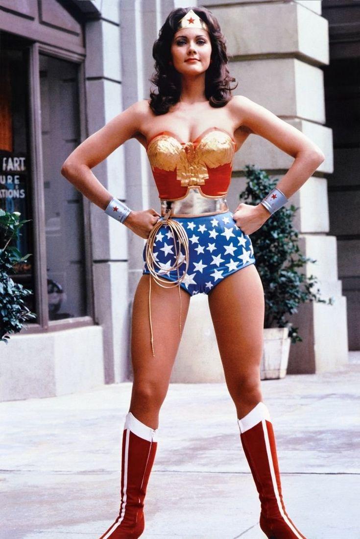 Wonder Woman Lynda Carter 1970's TV Show Poster