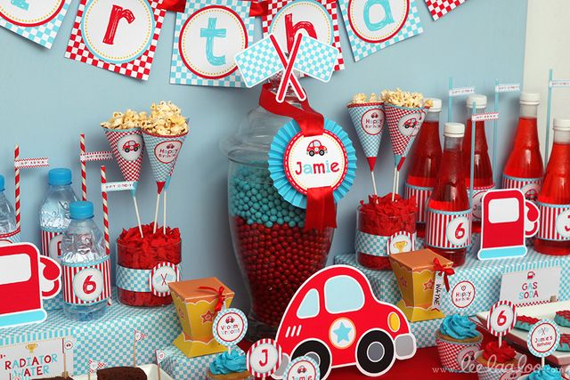 Race car party #racecar #party