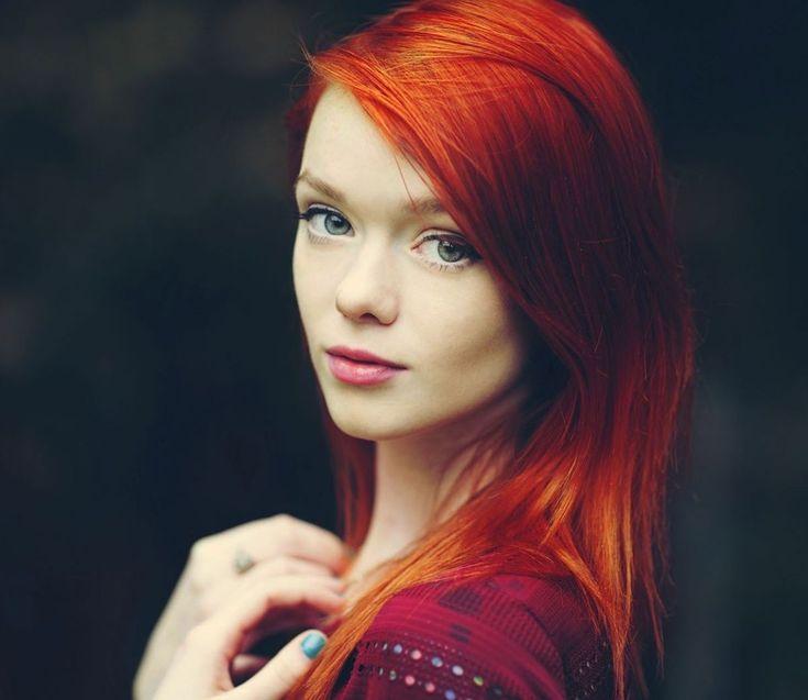 красивые фото рыжеволосых девушек