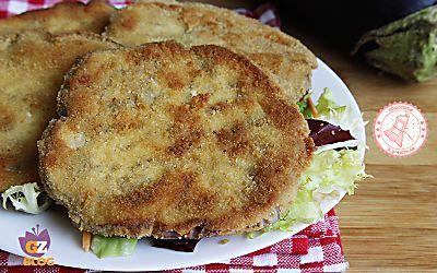 COTOLETTE DI MELANZANE fritte o al forno