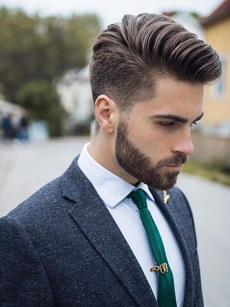 Men's hairstyles from 2018
