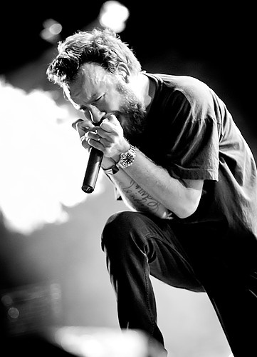 Anders Fridén, lead singer and songwriter for In Flames, the best band in the universe! :-D