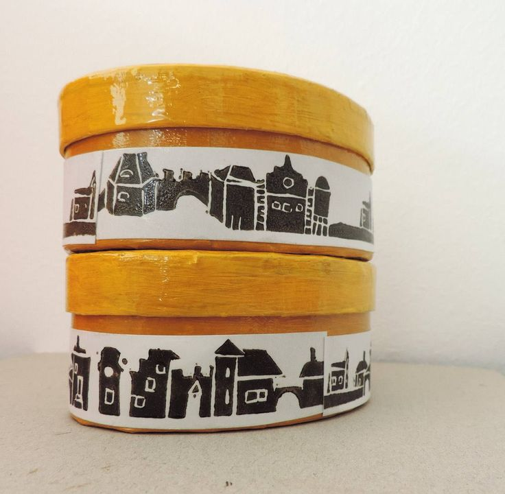 A personal favourite from my Etsy shop https://www.etsy.com/listing/553959830/row-of-tiny-houses-art-jewelry-box