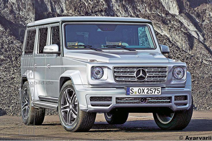Mercedes G-Klasse W464 (2017): Vorschau, Erlkönig, Preis - Bilder - autobild.de