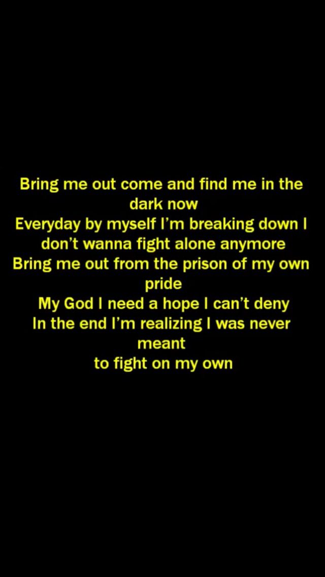 On My Own lyrics by Ashes Remain.   Music   Music lyrics ...