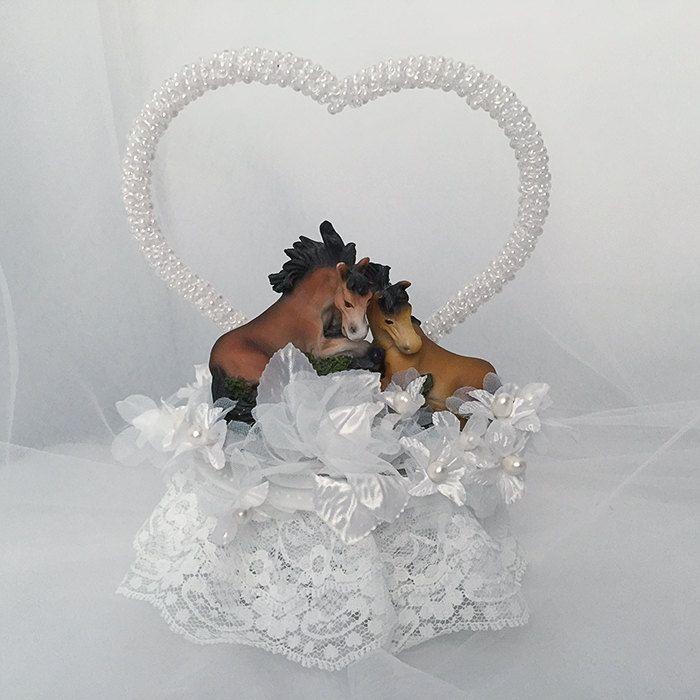 Outdoor Wedding decorations- Wedding Cake Topper- Horse Wedding Cake Topper- Horse Wedding Decorations- Western Theme Wedding Cake Toppers by UniqueWeddinCreation on Etsy