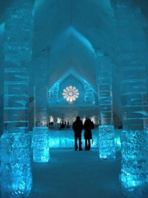 Ice Hotel Glace ~ Quebec, Canada                                                                                                                                                                                 More