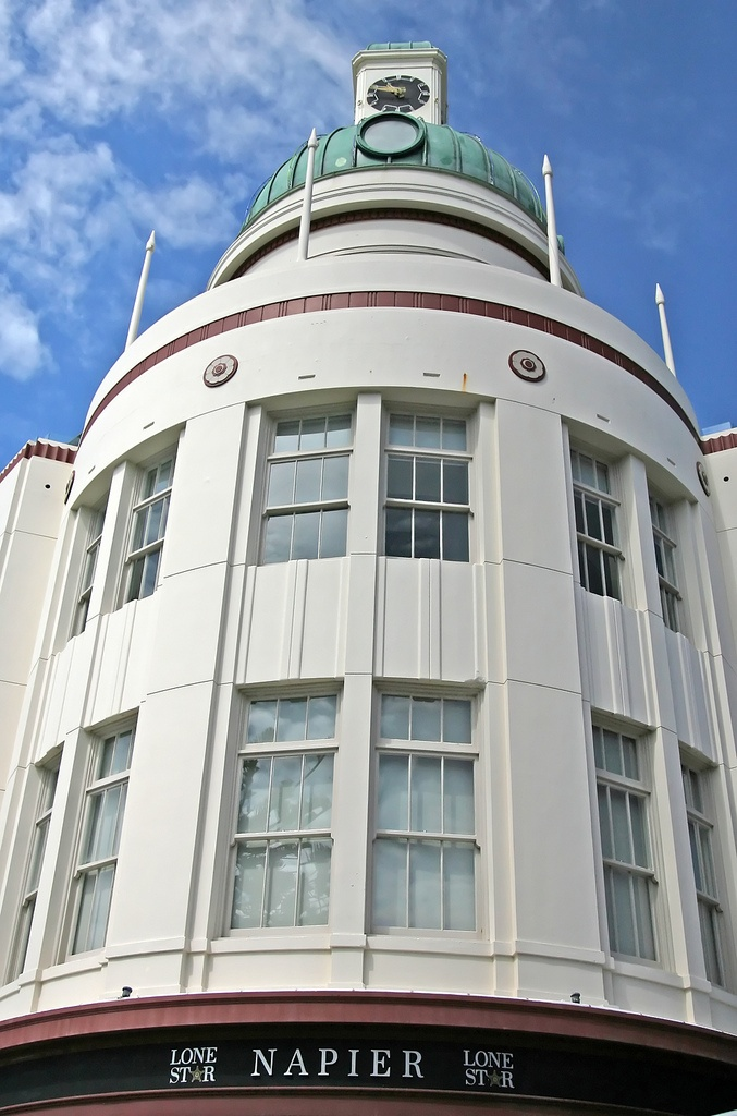 The T Building (or 'The Dome'), Napier, New Zealand