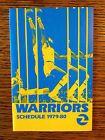 For Sale - 1979 - 80 Golden State Warriors Basketball Pocket Schedule - http://sprtz.us/WarriorsEBay