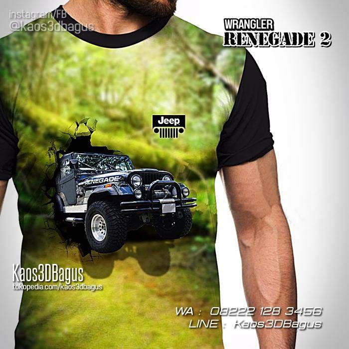 KAOS JEEP, Kaos WRANGLER RENEGADE, Kaos Gambar Jeep, Kaos OFFROAD, KAOS 4WD, WA : 08222 128 3456, LINE : Kaos3DBagus.  https://kaos3dbagus.wordpress.com/2015/09/12/jual-kaos-3d-jeep-kaos-gambar-jeep-kaos-komunitas-jeep-offroad-bigfoot-land-rover/