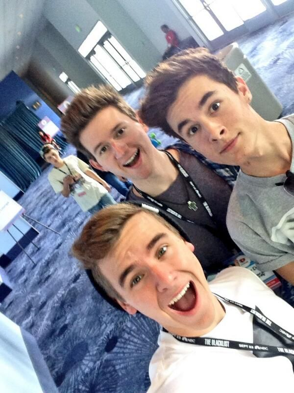 Connor, Kian and Ricky