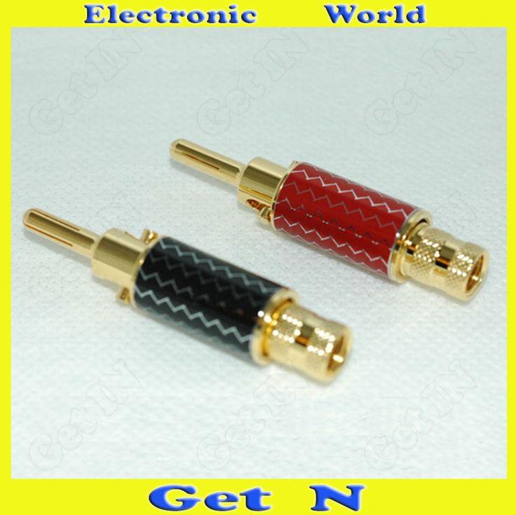 $28.50 (Buy here: https://alitems.com/g/1e8d114494ebda23ff8b16525dc3e8/?i=5&ulp=https%3A%2F%2Fwww.aliexpress.com%2Fitem%2F2pcs-Audiophile-Advance-Gold-Plated-Banana-Connectors-Plug-Lotus-Jack-Speaker-Amplifier-Banana-Socket%2F1000001228565.html ) 2pcs Audiophile Advance Gold Plated Banana Connectors Plug Lotus Jack Speaker Amplifier Banana Socket for just $28.50