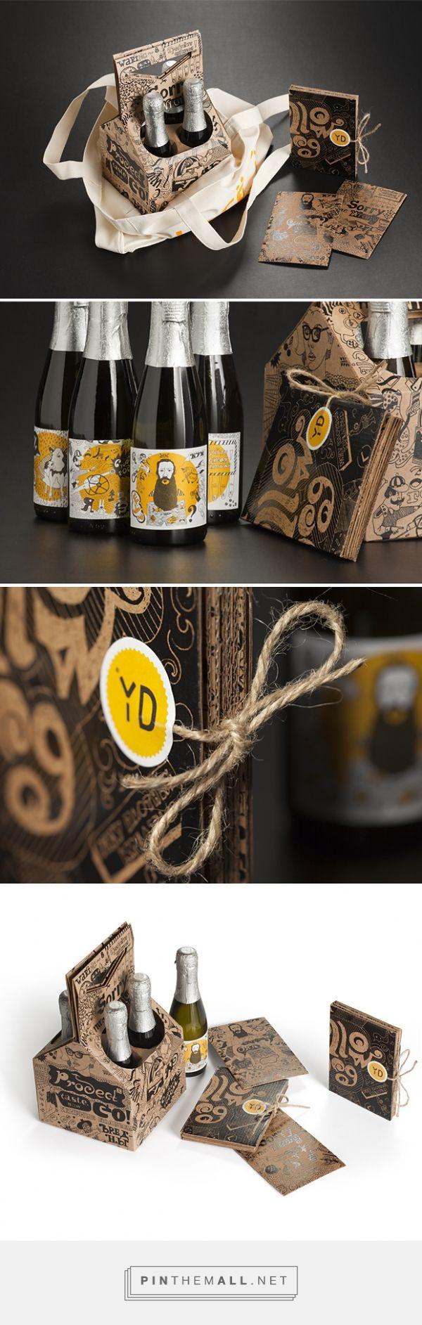 Корпоративный подарок YellowDog. Package © Андрей Горковенко. Beer I think packaging PD