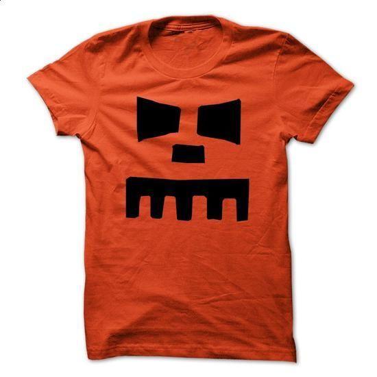 Halloween T-Shirt - Halloween Punkinhead 4 - #black sweatshirt #cotton t shirts. BUY NOW => https://www.sunfrog.com/Holidays/Halloween-T-Shirt--Halloween-Punkinhead-4-Orange.html?60505