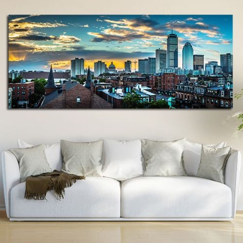 Πίνακας σε καμβά Βοστώνη