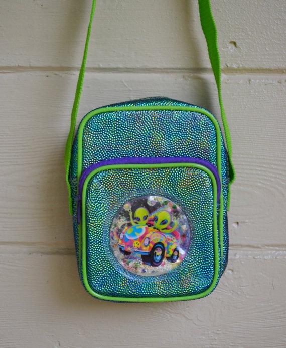 Vintage 1990s Alien Lisa Frank Purse Bag RARE by founditinatlanta, $70.00