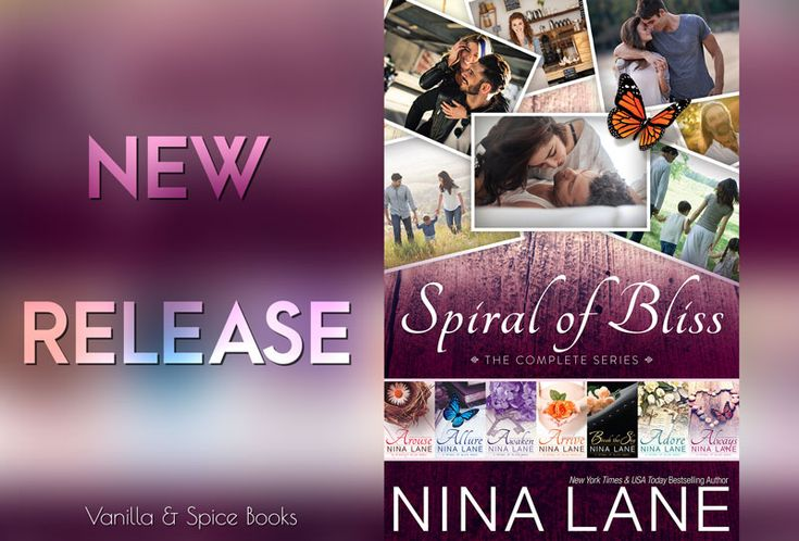 The whole series in one sweet box for only $1.99  RELEASE BLITZ: NINA LANE ✮ SPIRAL OF BLISS BOXSET