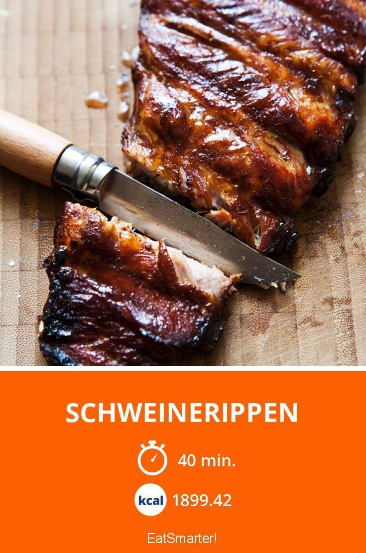 Schweinerippen Rezept Fleisch Rippchen Schwein Und Fleisch