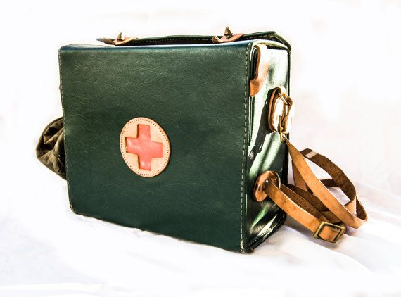 Vintage red cross medical bag waxed military army canvas bag soviet green first aid box authentic doctor nurse medical bag medical supplies (scheduled via http://www.tailwindapp.com?utm_source=pinterest&utm_medium=twpin&utm_content=post78820627&utm_campaign=scheduler_attribution)