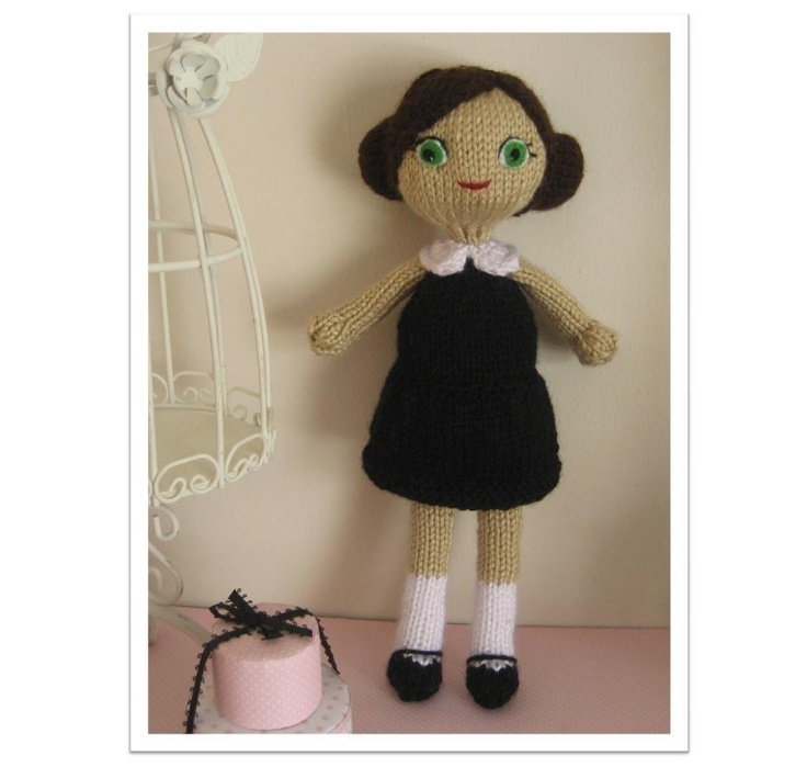 23 best knit doll patterns images on pinterest knitting designs knit dani doll pattern dt1010fo