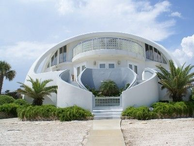 Vrbo 422754 Famous Dome Home Pensacola Beach Private Pool Steps To Gulf Wedding Destination Pinterest House And