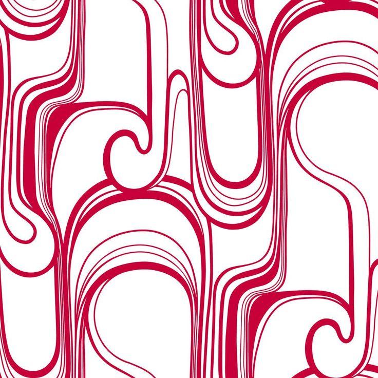 Risky Business Curves Ahead 27' X 27' Abstract Foiled