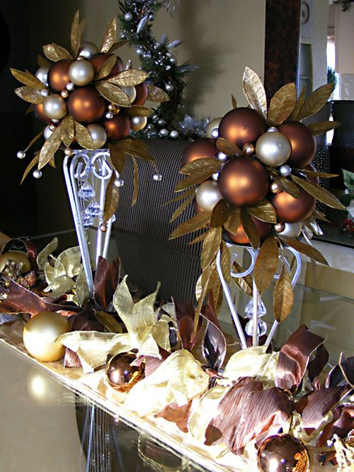 Decorating Ideas using Christmas ornaments Image courtesy of Michelle Aleff
