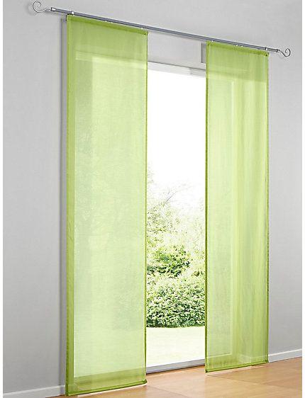 Paneelgordijn voor tussen bed en tv 60 cm breed, 245 hoog; EUR. 20,-