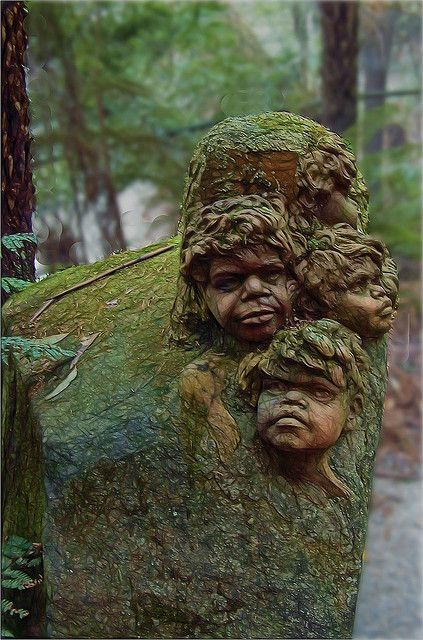 Hidden away in a dense inlet along the winding Mt Dandenong Tourist Road is the internationally renowned William Ricketts Sanctuary #dandenongranges #victoria #travel #art #aboriginals