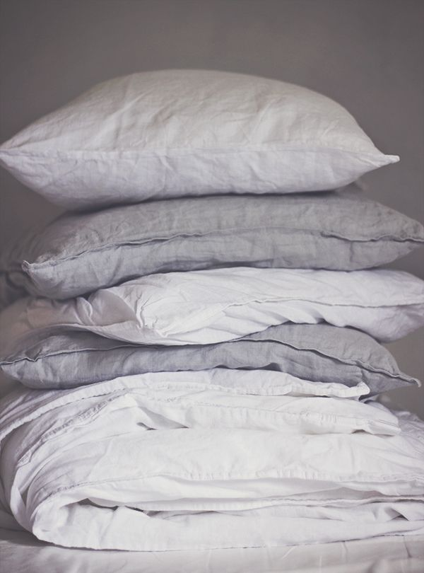 We love linen bedding... Take a look at Natural Bed Company for similar washed linen bedding in pale grey and white - http://www.naturalbedcompany.co.uk/shop/natural-cotton-bedding/linen-bedding/