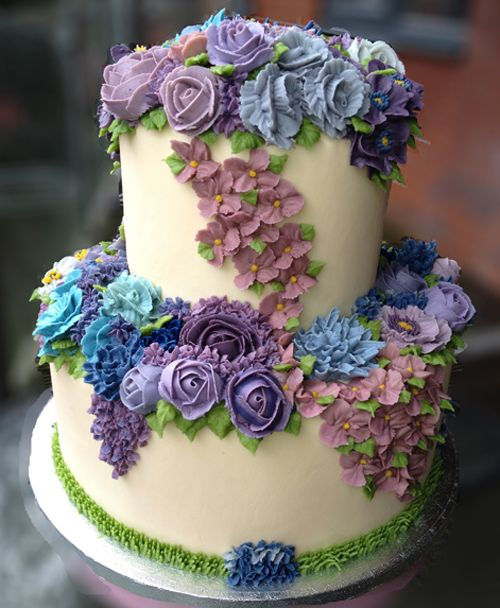 Arty-Cakes Welcome Spring.... LOVELY! Just lovely... enjoy my Pin friends... Raysa Santo Domingo