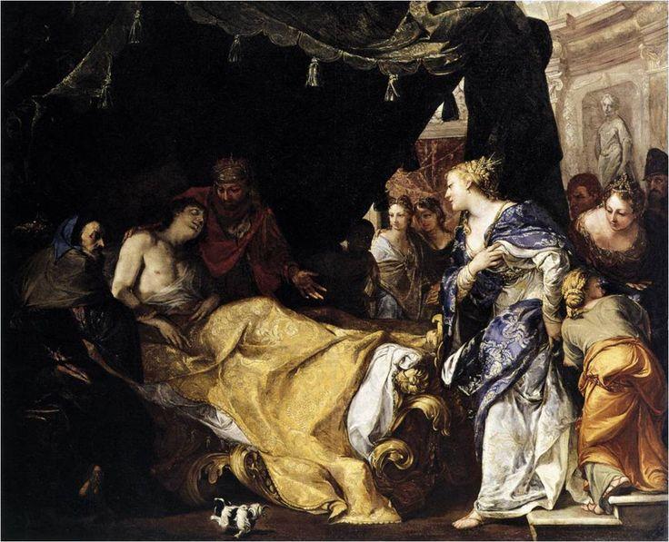 Antiochus a Stratonice, Antonio Bellucci
