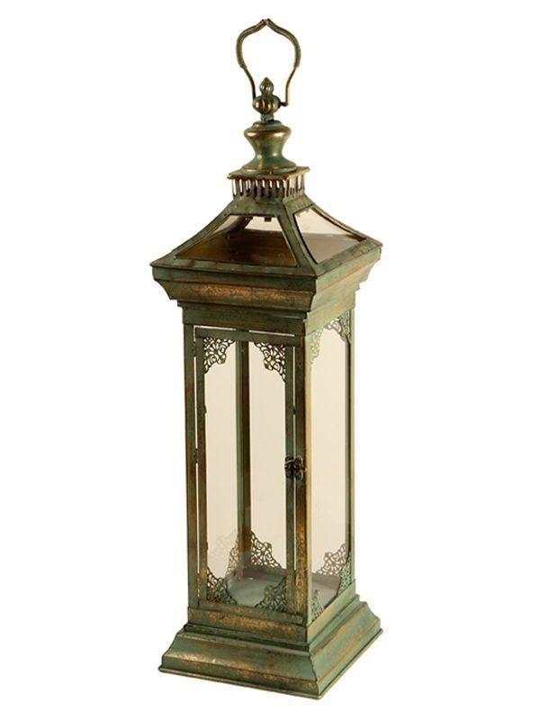 Lanterna Rústica p/ Decoração com Velas 70cm - http://www.artesintonia.com.br/lanterna-rustica-p-decoracao-com-velas-70cm