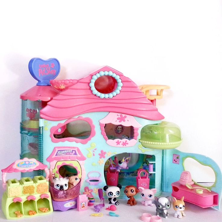 Littlest Pet Shop Biggest House EXCLUSIVE Sam's Club BONUS