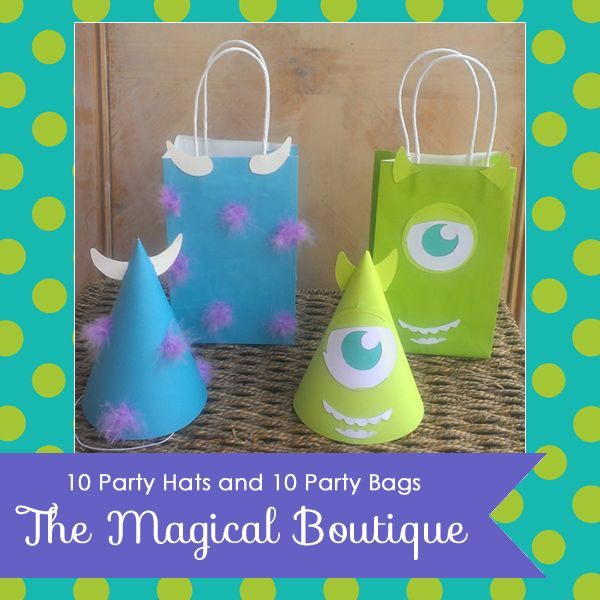Monsters Inc. Party Giveaway | A to Zebra Celebrations