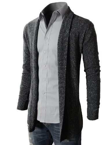 H2H Men's Shawl Collar Cardigan With No Button - Listing price: $41.50 Now: $28.99  #H2H