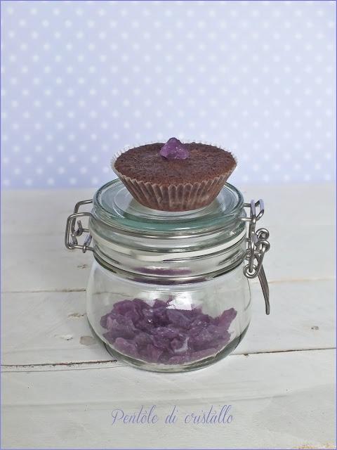 Pentole di cristallo ♥: Muffin al cioccolato e violette Leone