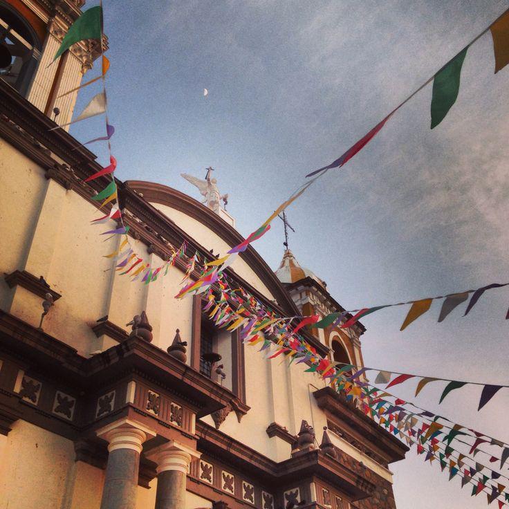 Templo en Comala