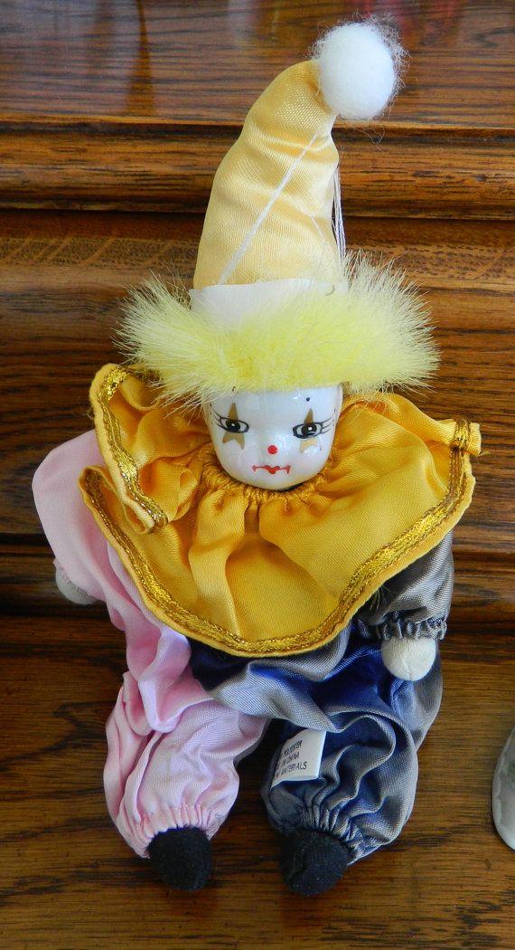 9 Best Porcelain Clown Doll Collection Images On Pinterest