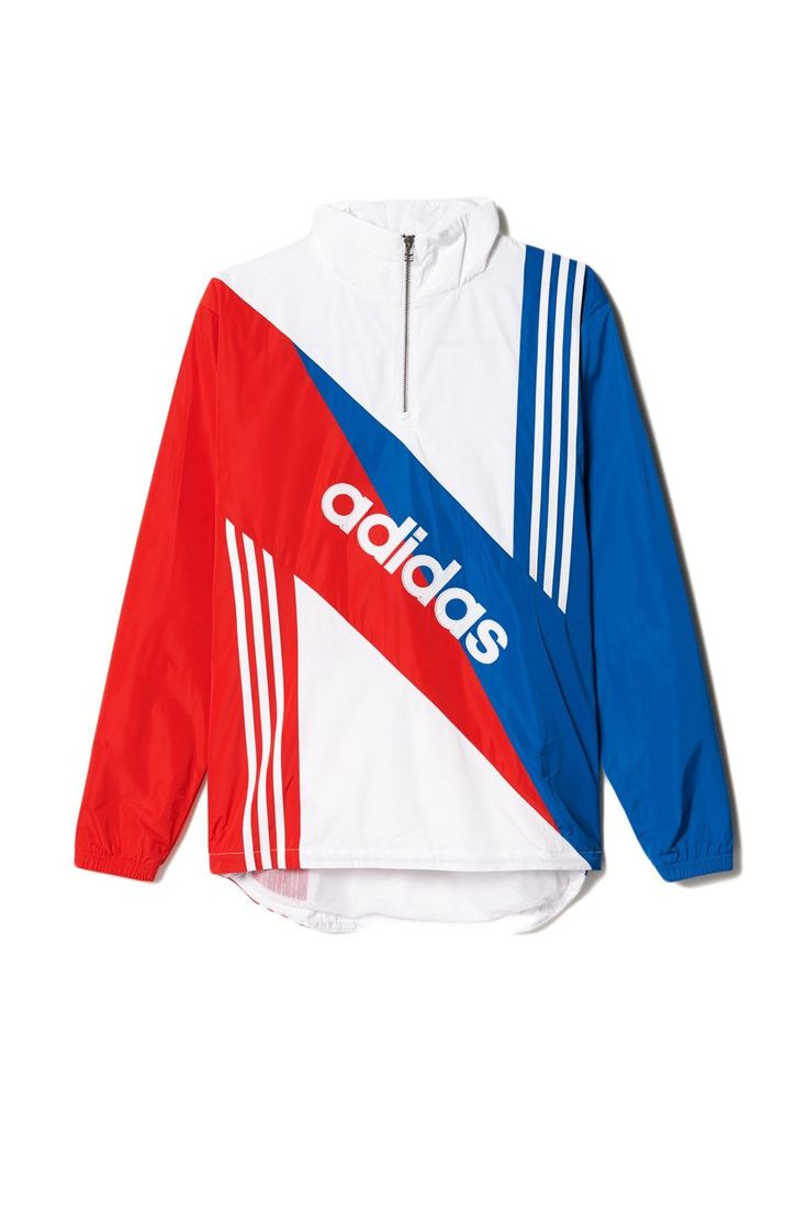 "Men's retro linear windbreaker, £75 at  <A href=""http://www.adidas.co.uk/retro-linear-windbreaker/AJ7353.html "">adidas.co.uk</a>"