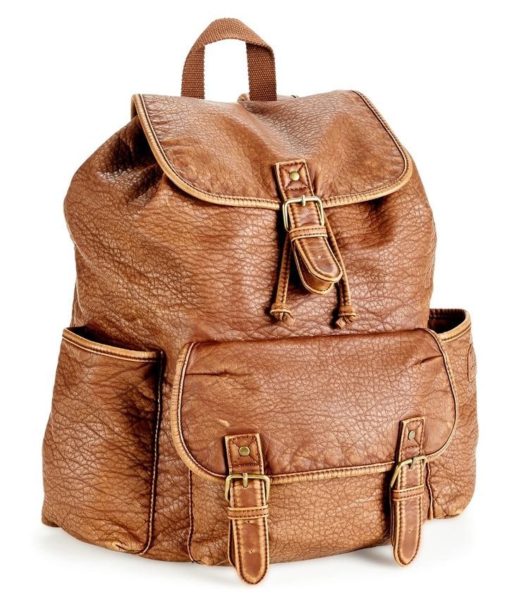 Faux Leather Rucksack from Aéropostale