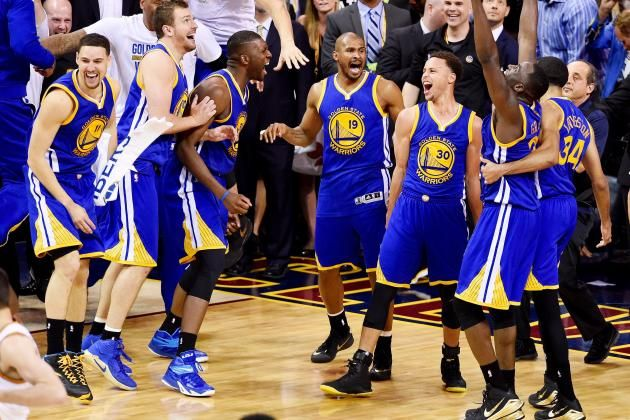 Warriors vs. Cavaliers: Game 6 Score and Twitter Reaction from 2015 NBA Finals