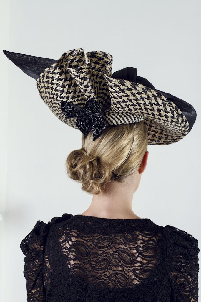 Coco (back view), Spring 2014 | Julie Anne Lucas Millinery | North Perth, Australia