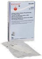 """Kaltostat Rope, 2 Gm Packing, 5 Per Box by ConvaTec. $60.95. 16"""". (SOLD BY BOX 5/EA) Kaltostat Rope, 2 Gm Packing, 5 Per Box. Calcium alginate wound exudate absorber for moderately- to havily-draining wounds. May be appropriately used for Stages II and IV pressure ulcers, venous ulcers, arterial and diabetic ulcers, donor sites, superficial burn wounds, surgical incisions, abrasions, lacerations and traumatic wounds. Available in flat dressings or wound packing rop..."""
