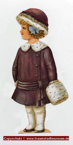 Lady-Anne-Viktorianische-Anziehpuppe-Sammleredition-Paperdoll-Replic-ausgestanzt