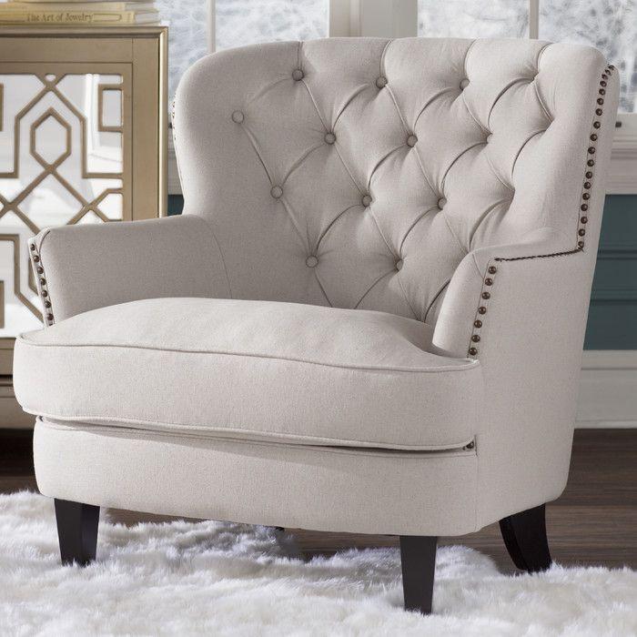 Sanna Tufted Arm Chair & Reviews | Joss & Main