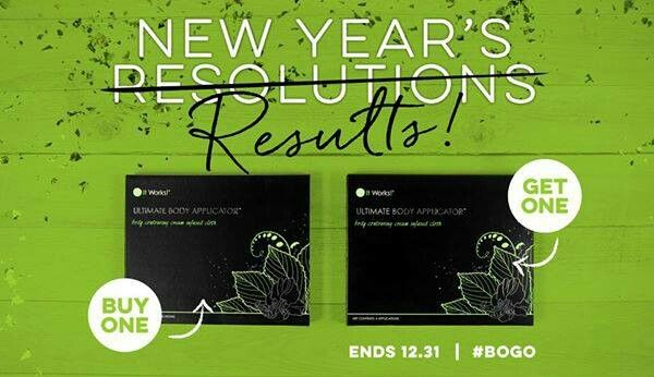 "This just announced BOGO is back for the end of the year!!!! What does that mean for you? That means you get 8, yes I typed 8, wraps for the price of 4!!!! So what are you waiting for? Let's get you wrapped today!!!! #BOGO text ""BOGO"" to 405-538-8577 to ask me about this amazing deal!!!!"