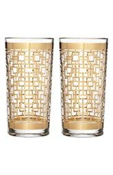 Waterford 'Mixology Mad Men Edition - Holloway' Lead Crystal Highball Glasses (Set of 2)