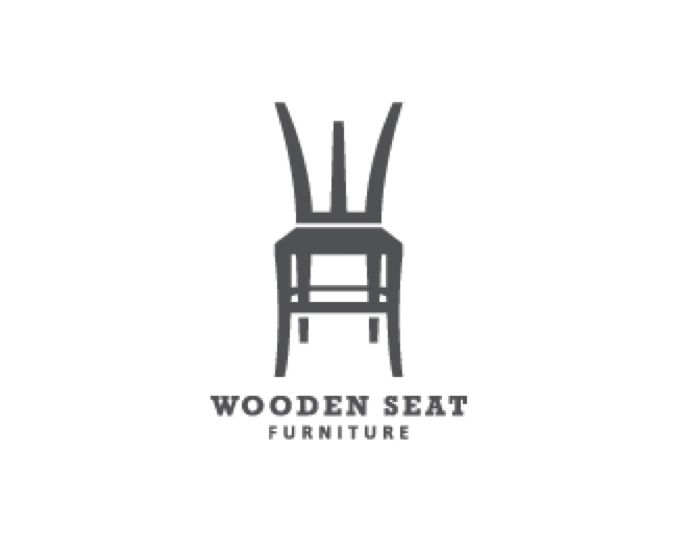 Logo Design Wooden Seat